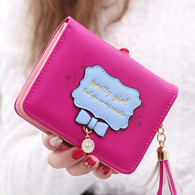 Short Wallet Purses Handbag