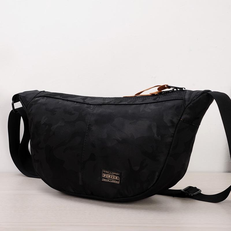 d254088890 Men s Street Retro Trend Cloth Messenger Bag Plain Zippered Male Sling Bag