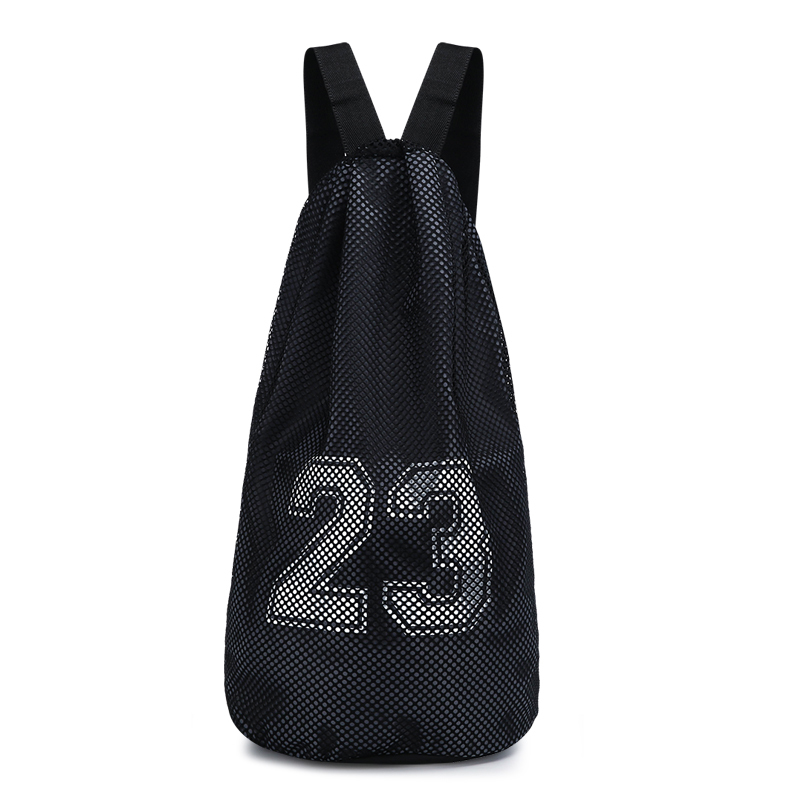 Men's Basketball Drawstring Bag Outdoor Fitness Waterproof Sports Backpack