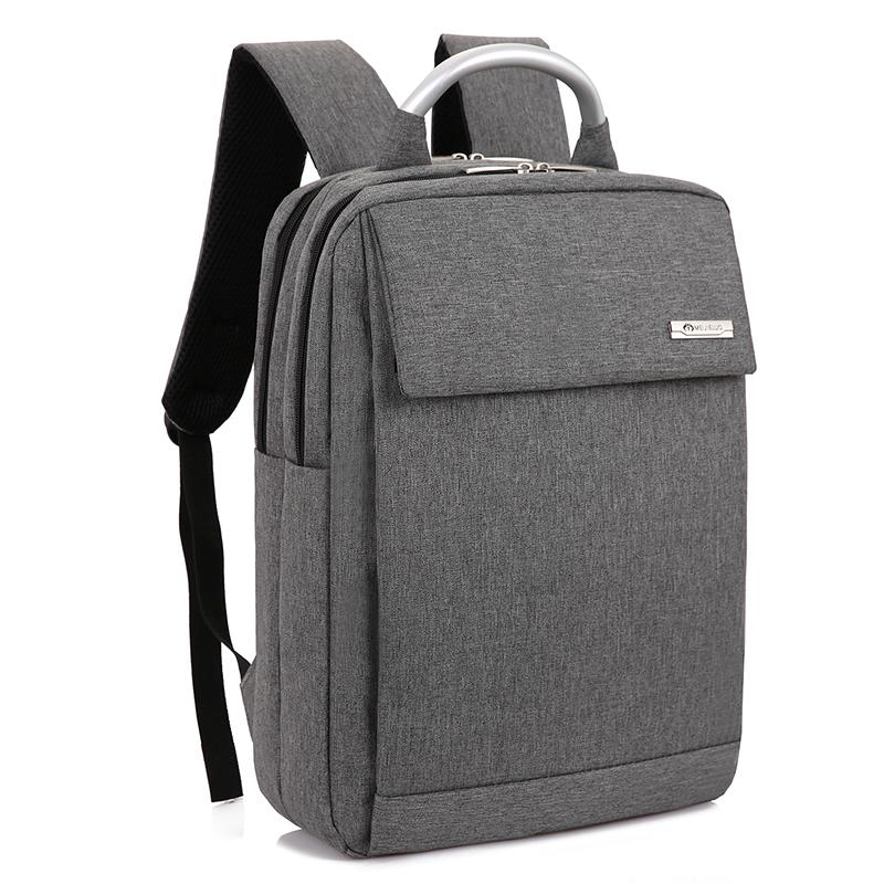Men\'s Rectangle Laptop Bag Hard Handle Business Large Capacity Travel Backpack