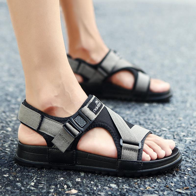 Men's Non Slip Beach Shoes Outdoor Fashion Slipper Trend Male Casual Sandals