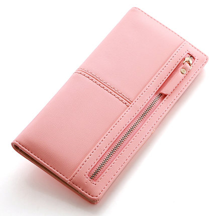 Wallet Purses Zip Thin