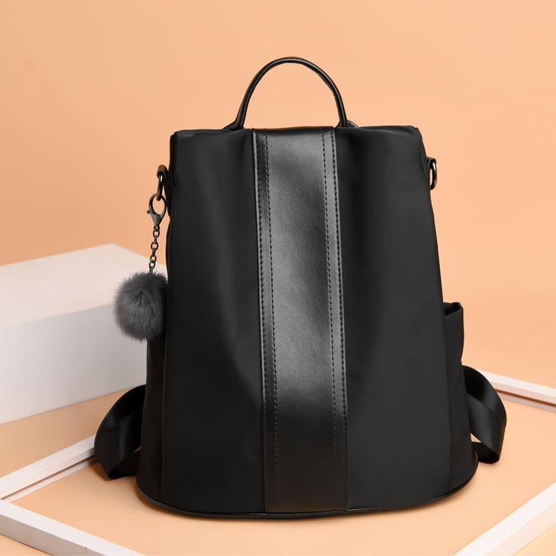 Women Anti Theft Female Backpack Nylon Cloth Canvas Large Capacity Fashion Bag