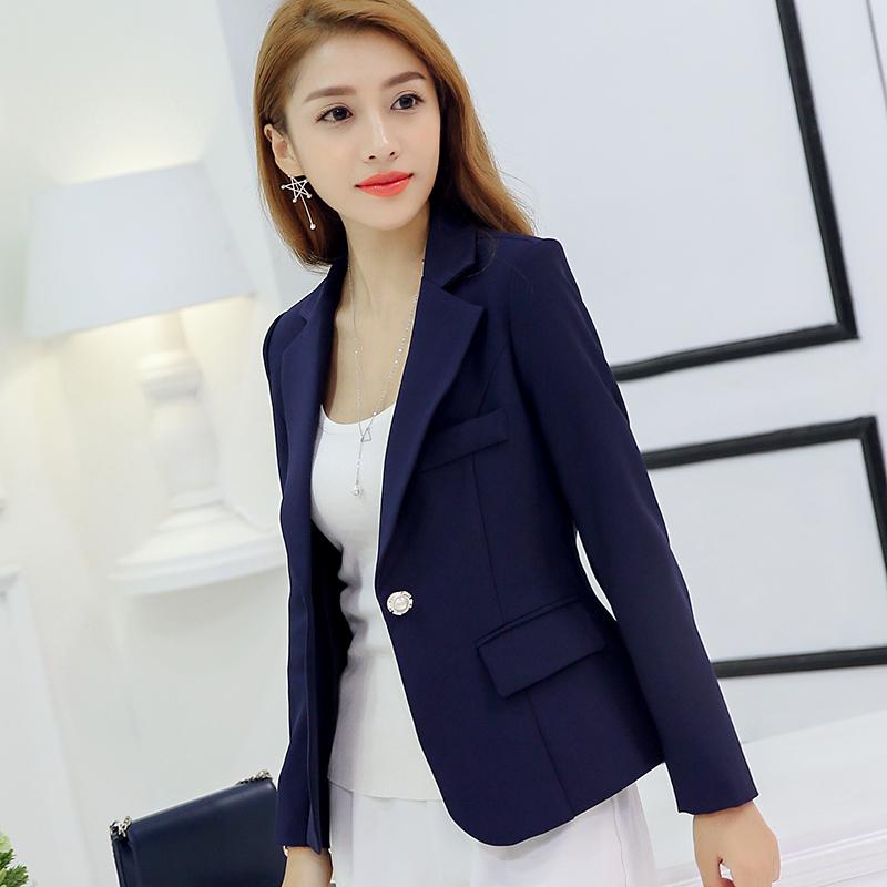 81bf9b6ef43 Women Solid Color Casual Blazer Business Fashion Suit Ladies Plus Size  Jacket
