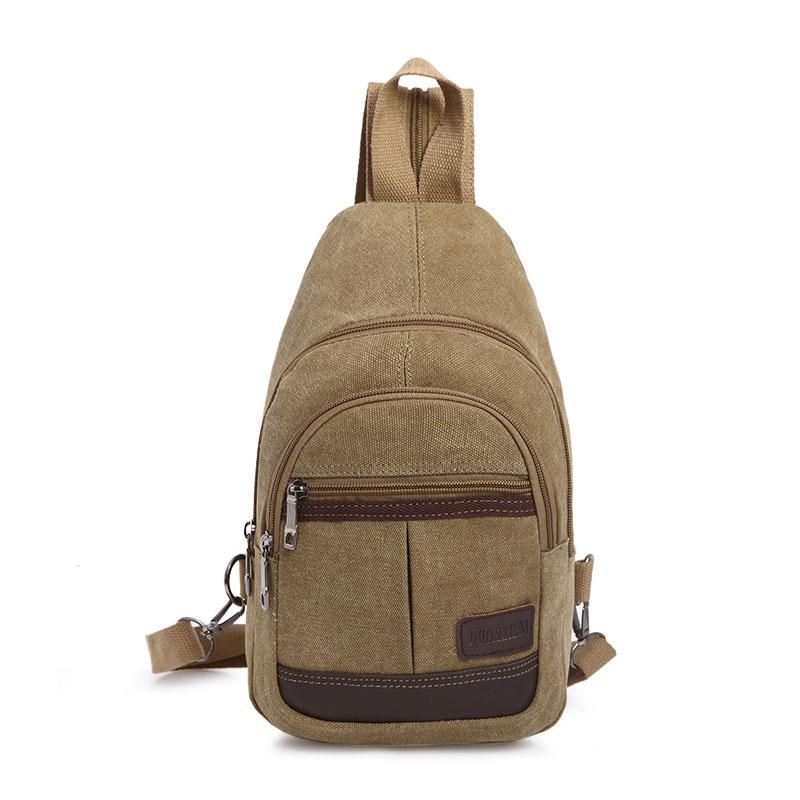 Men\'s Multi Purpose Backpack Sling Bag Dual Use Chest Bag Travel Sports Bag