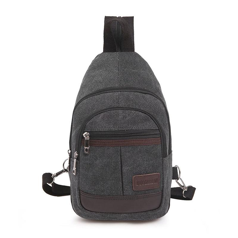 Men's Multi Purpose Backpack Sling Bag Dual Use Chest Bag Travel Sports Bag