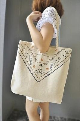 Japanese Shoudler Canvas Bag