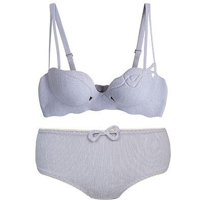 f96ee12146d Women Sexy Seamless Bra Underwear Classy Chic Ladies Fashion Lingerie Set