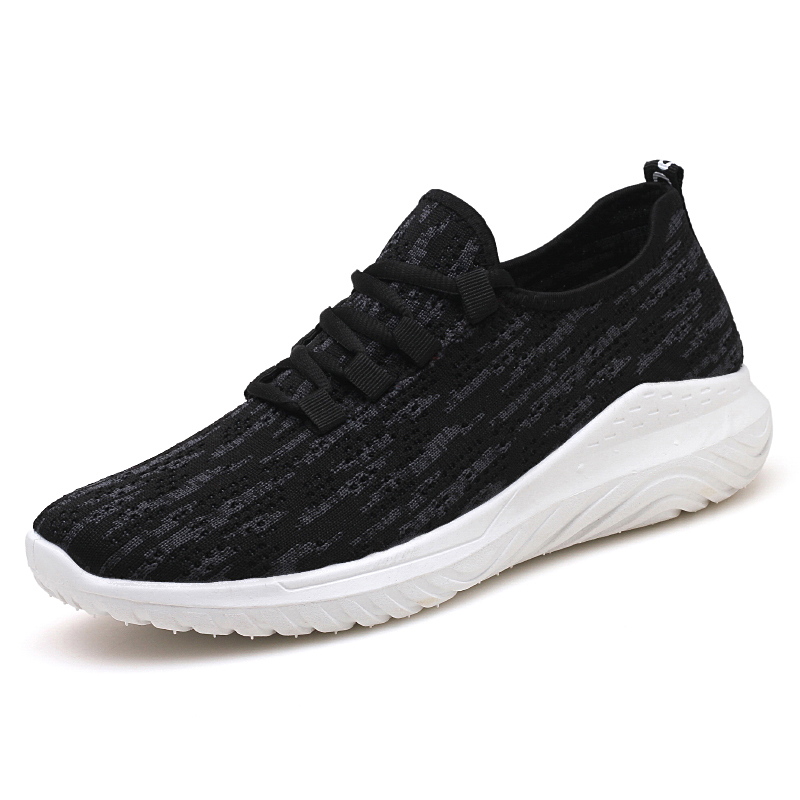 Men's Lightweight Sports Training Shoes Lace Up Comfort Wear Running Shoes