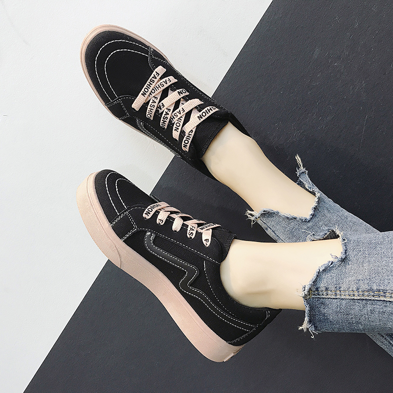 Women Retro Chic Lace Up Sneakers Ladies Street Wear Plus Size Sports Shoes