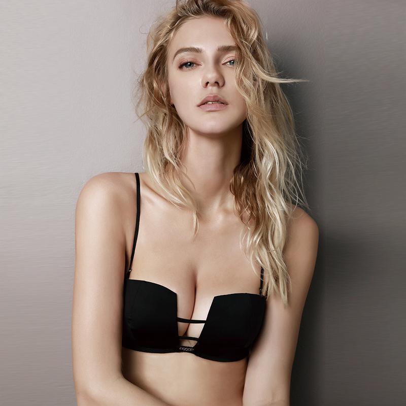 Women Square Seamless Bra Sexy Underwear Set Adjustable Fashion Lingerie