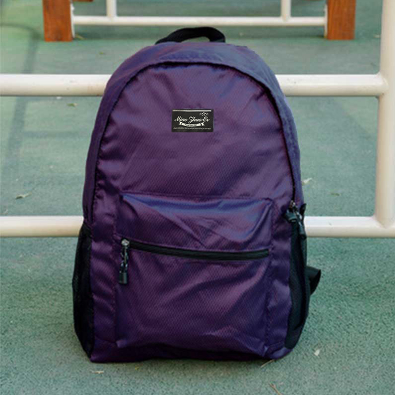 Men's Heavy Duty Folding Backpack Travel Outdoor Luggage Unisex Couple Backpack