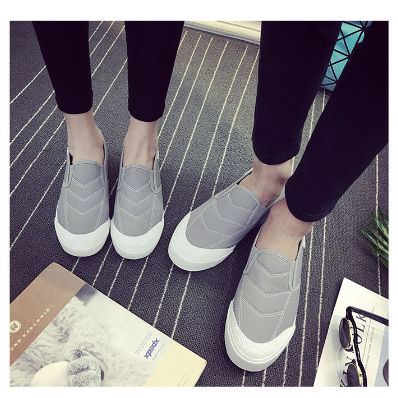 Men's Lazy Canvas Spring Fashion Style Plus Size Shoes