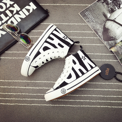 Canvas Flats Casual Sneakers