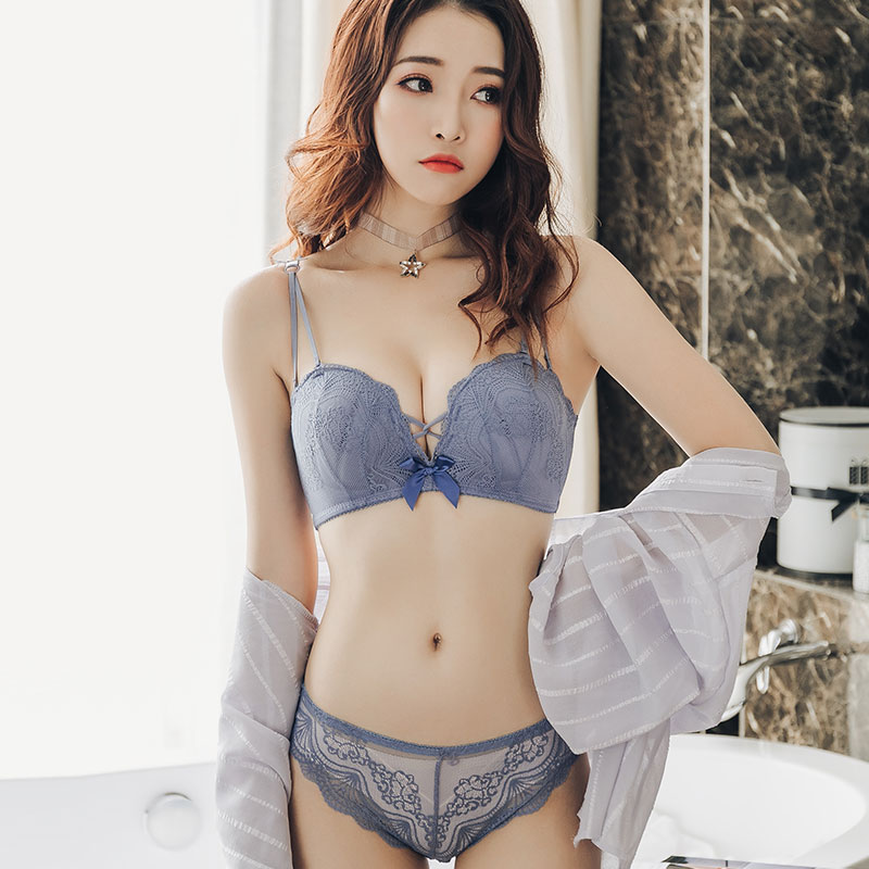 4ee928225ec97 Women Anti-Sagging Bra No Steel Ring Sexy Japanese Fashion Lace ...