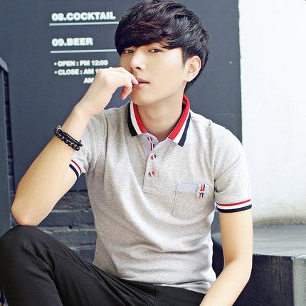 Men\'s Summer Short Sleeve Polo Shirt Hot Trend Clothes Plus Size