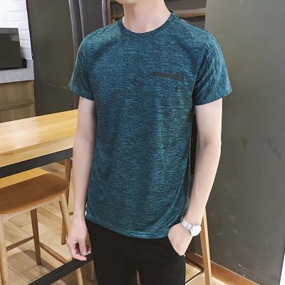 Men's Summer Outdoor Sports T-Shirt Short Sleeve Round Neck Fashion Tees