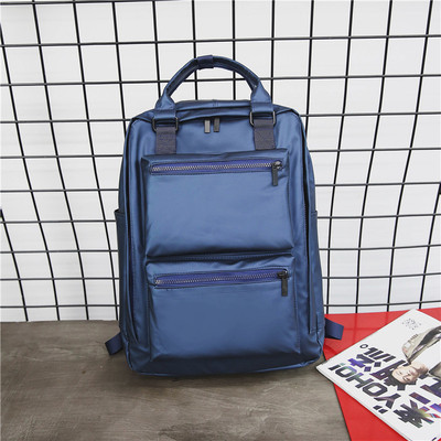 Men's Large Capacity Backpack Waterproof Multi Function Travel Bag Student Bag