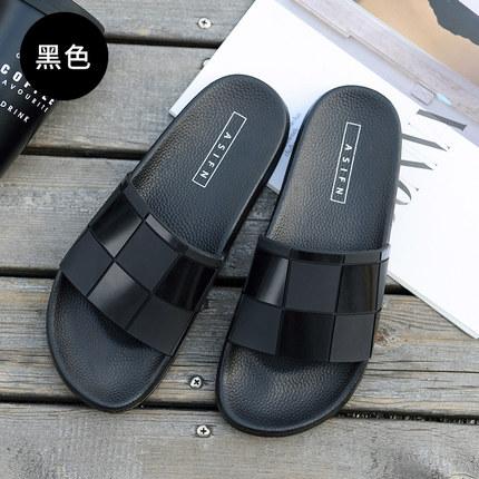 cb7ec56a5662 Men s Summer Slippers Casual Beach Sandals Students Wear Non-Slip Slipper