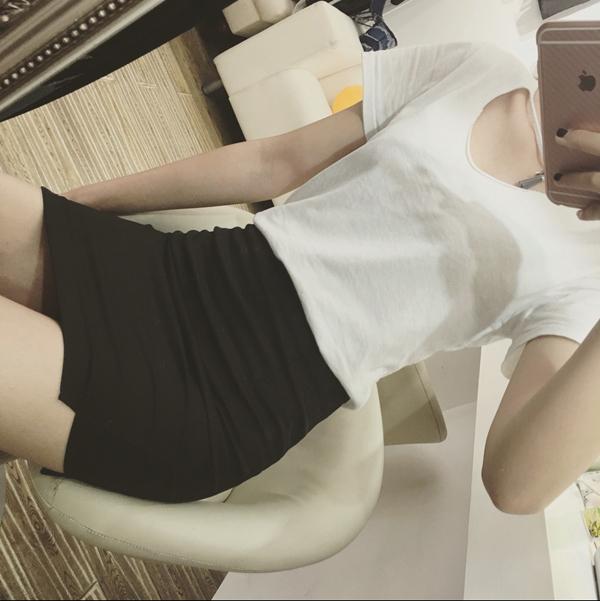 Women's High Waist Stretch Professional Skirt Short Hip Plus Size Skirt