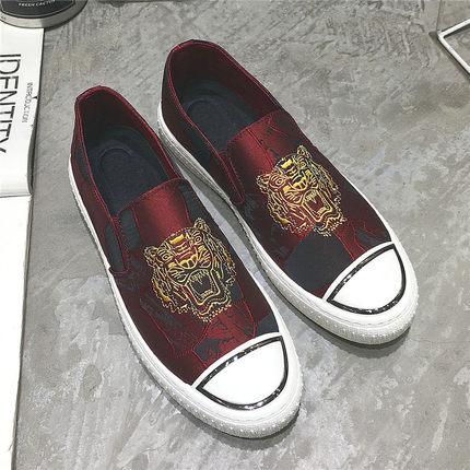 Men's Autumn Canvas Shoes Casual Pedal Shoes Trendy Society Shoes