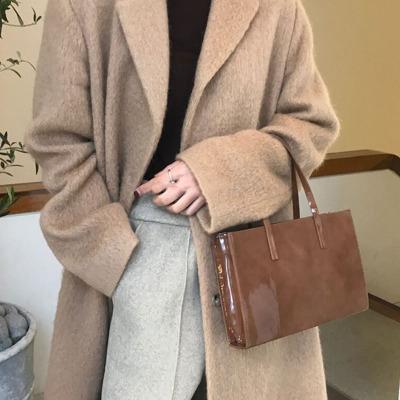 Women\'s Chic Bag Handbag Retro Shoulder Messenger Bag Leather Chain Bag
