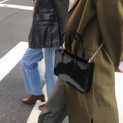 Women's Chic Bag Handbag Retro Shoulder Messenger Bag Leather Chain Bag