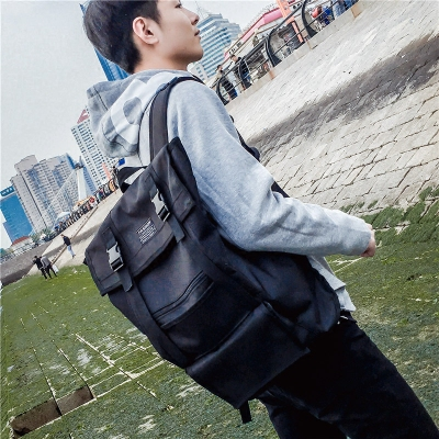 Men's Shoulder Bag Campus Student Bag Computer Travel Package Backpack