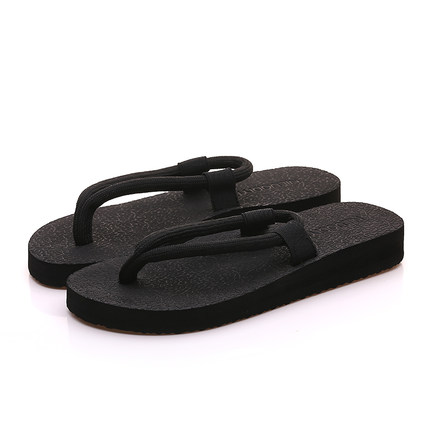 Men\'s Summer Flip-Flops Slippers Thick Bottom Beach Shoes Casual Sandals