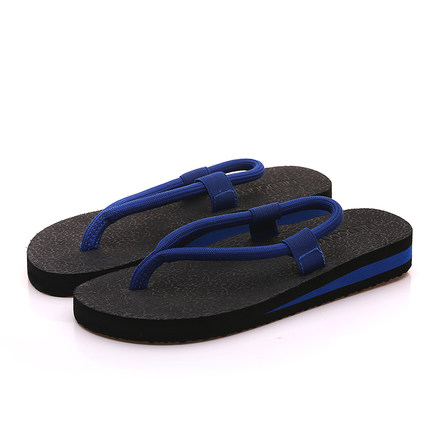 Men's Summer Flip-Flops Slippers Thick Bottom Beach Shoes Casual Sandals
