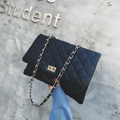 Women Big Bag Messenger Bag Chain Shoulder Large Envelope Bag