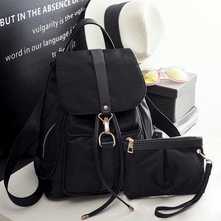 Men\'s Large Capacity Backpack Shoulder Bag Vertical Square Bag