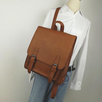 Men\'s Simple Shoulder Bag Handbag Fashion Student Backpack