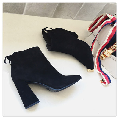Zip Pointed Martin Women Boots