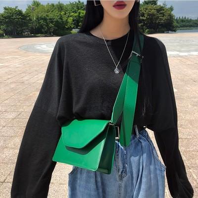 Women Diagonal Small Square Bag Shoulder Broadband Bag Crossbody Shoulder 8cd69581e34c0