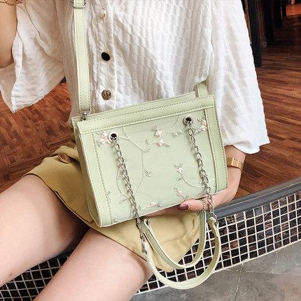 Women Lace Chain Bag Mother Bag Shoulder Diagonal Mobile Handbag 1ce3fd4de59ee