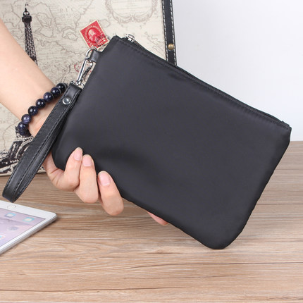 Men's Handbag Clutch Bag Plain Casual Bag Wrist Mobile Phone Bag