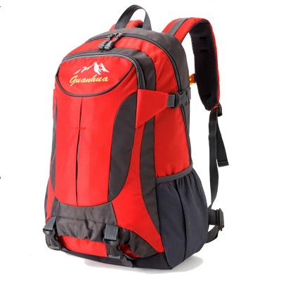 Men's Outdoor Waterproof Mountaineering Bag Travel Backpack Large Bag