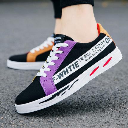 Men\'s Autumn Breathable Canvas Shoes Casual Shoes Sports Shoes