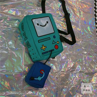 Men\'s Cute Fan Game Bag Small Bag Shoulder Bag Messenger Bag
