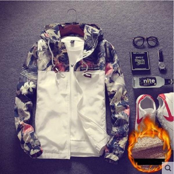 Men\'s Autumn & Winter Korean Slim Sports Casual Trendy Jacket