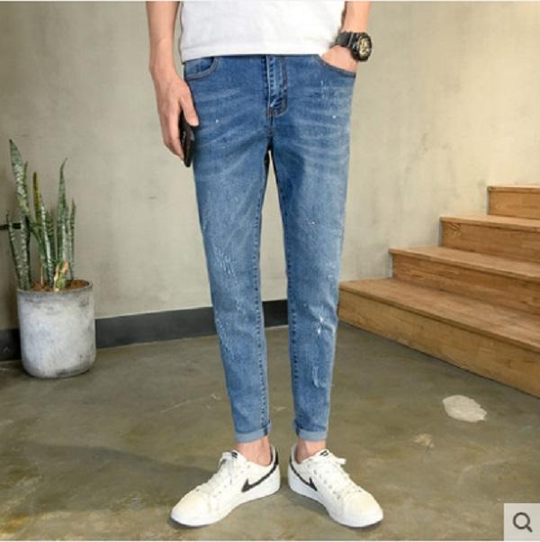 Men\'s Korean Trendy Casual Simple Loose Pants