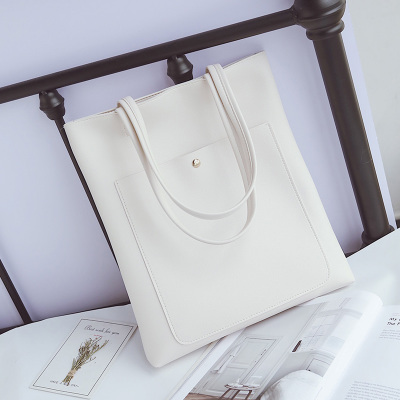Women Fashion Korean Simple Wild Tote Casual Bag