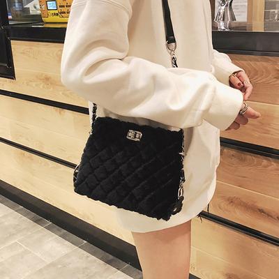 Women\'s Trendy Fairy Wild Rhombic Chain Shoulder Bag