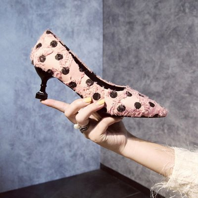 Women Korean Autumn Wild Sexy Pointed Shoes