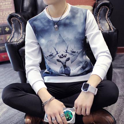 Plus Size XXXL Men T-Shirt LongSleeve