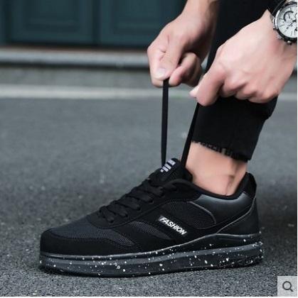 Men\'s Korean Trend Simple Smart Look Sports Canvas Shoes