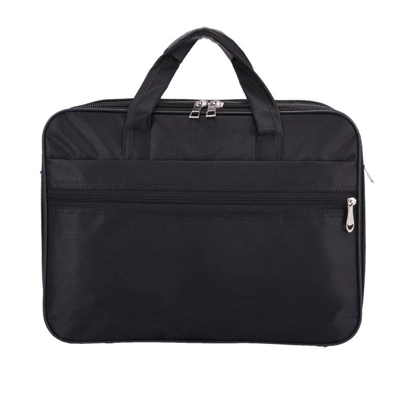 Men\'s Canvas Tote Briefcase Oxford Handle and Shoulder Bag