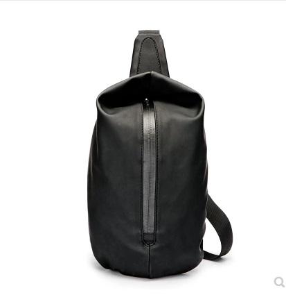 Men\'s Korean Trend Vertical Square Shoulder Strap Style Chest Bag