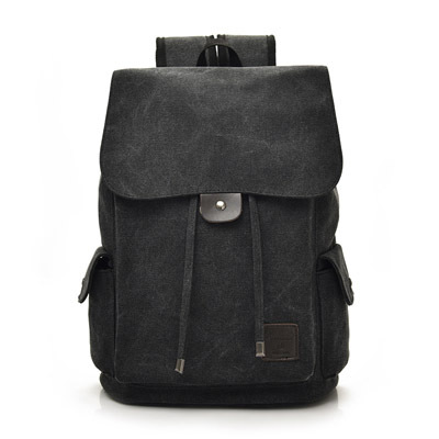Men s Korean Trend College Travel and School Canvas Bag a7c490f417324